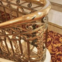 We Polish Brass Handrails