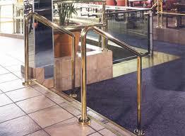 Brass Rail Polishing